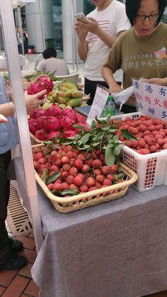 Yummy organic Leichee @Island East 2014 Jun