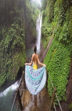 Aling Aling Waterfall is located near Singaraja in Bali Indonesia. There are 7 waterfalls in total ad it is one of the best waterfalls in Bali. Book Corners, Group Travel, Yoga Retreat, Backpacker, Southeast Asia, Travel Guides, Around The Worlds, Pictures, Photos