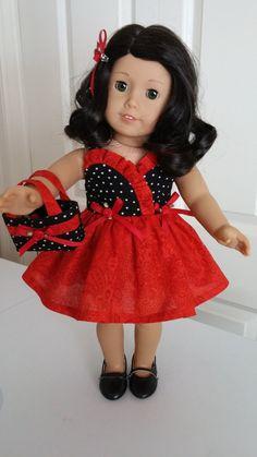 "American Girl 18"" Doll Dress"