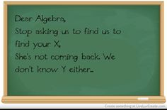Funny maths quote