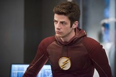 "The Flash -- ""Versus Zoom"" -- Image: FLA218b_0150b.jpg -- Pictured: Grant Gustin as Barry Allen -- Photo: Diyah Pera/The CW -- © 2016 The CW Network, LLC. All rights reserved.  Read more at http://www.comingsoon.net/tv/news/671837-its-flash-versus-zoom-dawn-of-speed-force-in-new-photos#EgTAUBHxCQFeEyt1.99"
