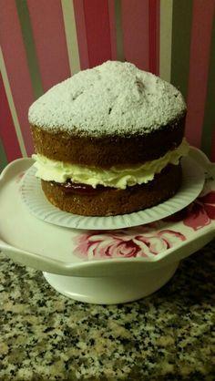 See 2 photos from 6 visitors to Cupcake Couture. Cupcake Couture, Victoria Sponge, Fresh Cream, Cream Cake, Valentines, Cakes, Desserts, Food, Custard Cake