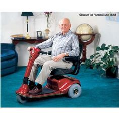 3Wheel ScooterCompanion Vermillion Red * This is an Amazon Associate's Pin. Click the image to find out more on Amazon website.