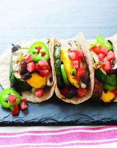 Add SIZZZZZLE to your summer with my GRILLED TACOS from Grilling Vegan Style ~ Checkout the recipe at:   http://johnschlimm.com/2013/06/05/grilled-tacos-from-grilling-vegan-style-page-147/ #grill #grilling #vegan #tacos #summer #recipes #recipe