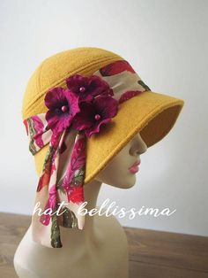 Women S Fashion Queen Street Mall Mother Of The Groom Hats, Fashion Over 50 Blog, Vintage Outfits, Vintage Fashion, Vintage Style, Color Combinations For Clothes, 1920s Hats, Denim Hat, Millinery Hats