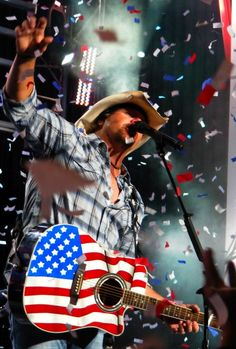 Toby Keith will be there brought to you courtesy of the Red, White, Blue and Country Thunder too!