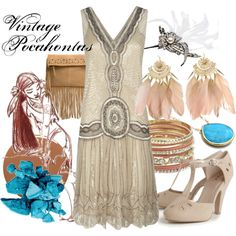 """Vintage Pocahontas"" by amarie104 on Polyvore"