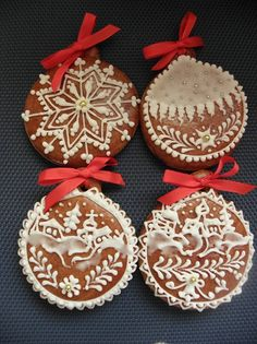 Gingerbread ornament designs
