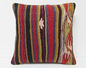 primitive decorations sofa cushion cover retro fabric turkish fabric cushion sofa cushion knitting pillow cover bohemian pillow kilim 20361