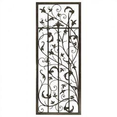 Paragon Rusty Vine Trellis II Metal Art - 9815