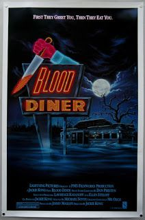 """ZombieBloodFights.com Blog: BLOOD:  YouTube Review """"Blood Diner"""" (1987) from H..."""