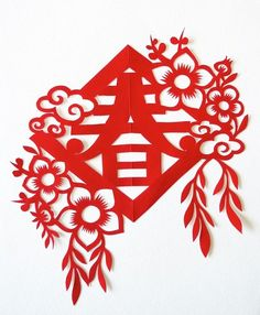Chinese Theme, Chinese Book, New Year's Crafts, Diy And Crafts, Paper Crafts, Paper Wall Art, Diy Wall Art, Chinese Paper Cutting, Chinese New Year Decorations