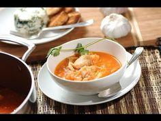 Sopa de pescado - Fish soup - Recetas de sopas - Recetas de pescado