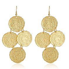 greek goddess earrings