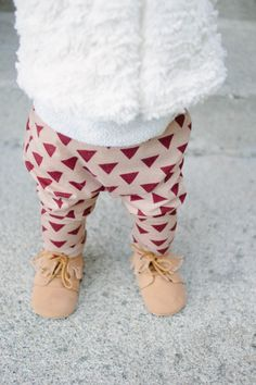 Baby Harem Pants Triangle print pants Print pants door AnchoreDeep