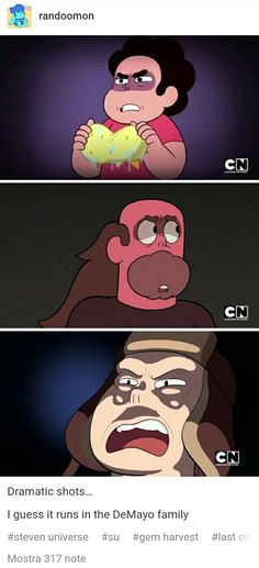 And people say Steven universe isn't an anime << X'D Steven Universe Funny, Steven Univese, Bubbline, Lapidot, Thing 1, Cartoon Network, Geek, Anime, Lettuce