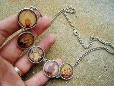 Bioshock Plasmid Necklace by SuperfastSpider on Etsy, $19.99