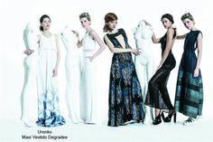 Urenko: cortes femeninos, fluidez, blanco/negro