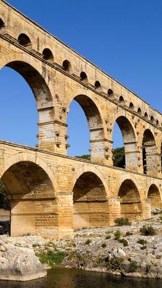 Pont Du Gard, Languedoc Roussillon, Brooklyn Bridge, Travel, Time Travel, France Travel, Viajes, Destinations, Traveling