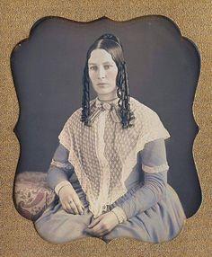 Beautiful hair, late 1850's