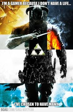 """The Games"" Poster recreated from the poster of some games The Elder Scrolls V: Skyrim Battlefield 3 Assassin's Creed: Revelations Call of Duty: Modern . The Games Geeks, Gamer Quotes, Girl Quotes, Nintendo, Geek Stuff, Video X, Video Game Memes, Gaming Memes, Gaming Posters"