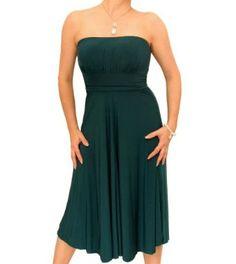 Blue Banana Slinky Strapless Dress,£34.99