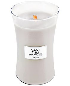 No fireplace, no problem! WoodWick's fireside candle brings a toasty scent to your home