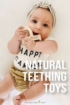 your little one by giving them natural teething toys made from sustainable toxic free materials. These teething toys are safe for baby and the environment and have a ton of adorable options to choose from. Personalize with baby's name for a unique gift. New Baby Gifts, Gifts For Kids, Baby Milestone Chart, Natural Parenting, Parenting Tips, Creating Keepsakes, Pretty Kids, Wooden Baby Toys, Teething Toys