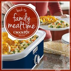 Does your family love to eat dinner together? Enter our Back to Family Mealtime sweepstakes for your chance to win a Crock-Pot® Casserole Crock® Slow Cooker or a Crock-Pot® Slow Cooker with Stovetop-Safe Cooking Pot! Visit https://www.facebook.com/CrockPot/app_600948003314659?ref=ts to pin this for your chance to win! Sweepstakes ends 9/3/15. #CrockPot #SlowCooker #Contest #PinToWin [Promotional Pin]