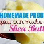 7 DIY Homemade Shea Butter Recipes for the Face, Body & Hair - beautymunsta - free natural beauty hacks & more! Homemade Moisturizer, Face Scrub Homemade, Moisturizer For Dry Skin, Homemade Skin Care, Homemade Products, Homemade Blush, Homemade Beauty, Face Cream For Wrinkles, Cream For Oily Skin