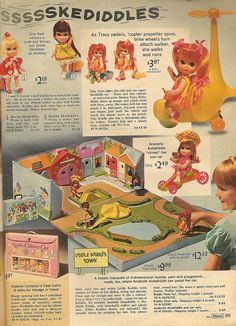 Liddle Kiddles Sears 1968  I had the town/city!  Gave it to my pastor's kids when I got married in 1976.