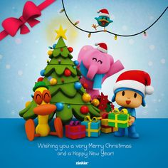 Merry Christmas for EVERYONE!!  Pocoyo & Friends    www.pocoyo.com