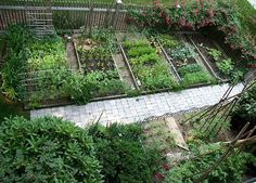 Smartest layout I have seen, just add the orchard next to it ;)