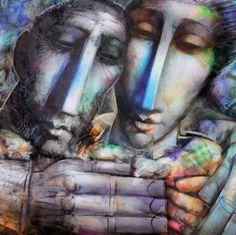 Alvaro Reja Light And Shadow, Figurative Art, Digital Art, Image, Paintings, Inspiration, Graphic Art, Pintura, Art Rooms