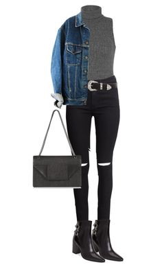 """""""I Had An Idea In My Head"""" by nazancc ❤ liked on Polyvore featuring Ally Fashion, H&M, B-Low the Belt, Yves Saint Laurent, YSL, saintlaurent, yvessaintlaurent and BLowTheBelt"""