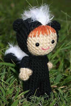 Mia Zamora - skunk ami doll