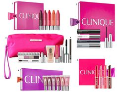 Maquiagem Clinique Holiday Sets.