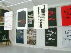 Rene Wanner's Poster Page / Philippe Apeloig poster exhibition