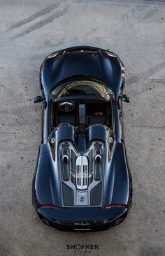 "rhubarbes: "" Porsche 918 Spyder by Daniel Shofner. (par Shofner Films Photography) More cars here. """
