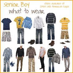 Seniors: What to Wear » leslieannephotofinish.com
