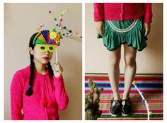 Cárdigan Siku ₪ R I T U A L ₪  Towanda! Otoño/Invierno 2015 #knitwear #origami #cardigan