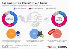 Das erwarten die Deutschen von Trump