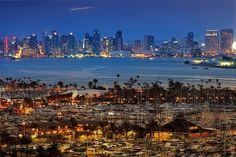 San Diego skylin Photo by Steve Deck.