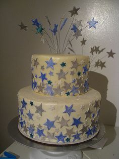 29 Best Star cakes images | Star cakes, Cake, Cake decorating