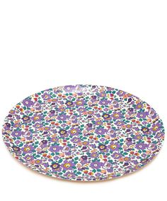 Flowers of Liberty Large Betsy Liberty Print Round Tray