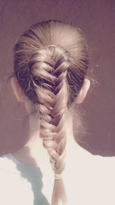 Fishtail braid #2 #thebeautypoison www.thebeautypoison.com