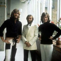 Barry, Mo and Robin 1972