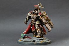 My Primaris conversion of the Chapter Master of the Minotaurs Warhammer Paint, Warhammer Models, Warhammer 40000, Warhammer 40k Miniatures, Space Marine, Emperor, Dawn, Fantasy, Random