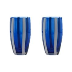 Gessato Glass in Blue from the Jewel Tone Tabletop event at Joss and Main!