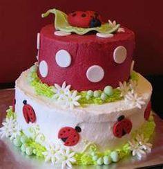Lady bug cake SOOOO Cute!